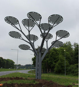 Clearshield 174 Chosen To Protect Solar Panel Trees Totally